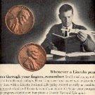 1965  Lincoln National Life Insurance Company ad ( # 2758)