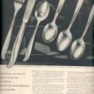 1957  International Stainless - The International Silver Company ad (# 4646)