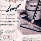 1948  Lewyt Vacuum Cleaner     ad (# 3100)