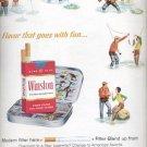 1964 Winston tastes good...like a cigarette should!   ad (# 4832)