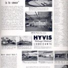 1937 Hyvis Mileage-Metered Lubricants   ad (# 4398)
