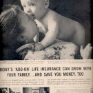 1960  Mutual of New York Insurance Company    ad (#5843)