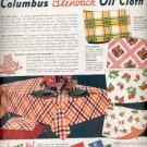 1951 Columbus Coated Fabrics Corporation  ad (#4330)