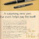 1962  Parker 45 Convertible Pen ad (# 1482)