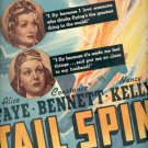Jan. 16, 1939 Tail Spin movie   ad (#6101)