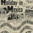 "1946    ""Holiday in Mexico "" movie  ad  (#861)"