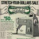 1972  Singer Company ad (#  1206)