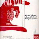 1965   Pall Mall Cigarettes    ad (#5928)