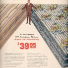 1957   Simmons 87th anniversary  Mattress ad (# 4921)
