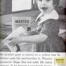 1960 Northern Waxtex sandwich bags  ad (# 4534)