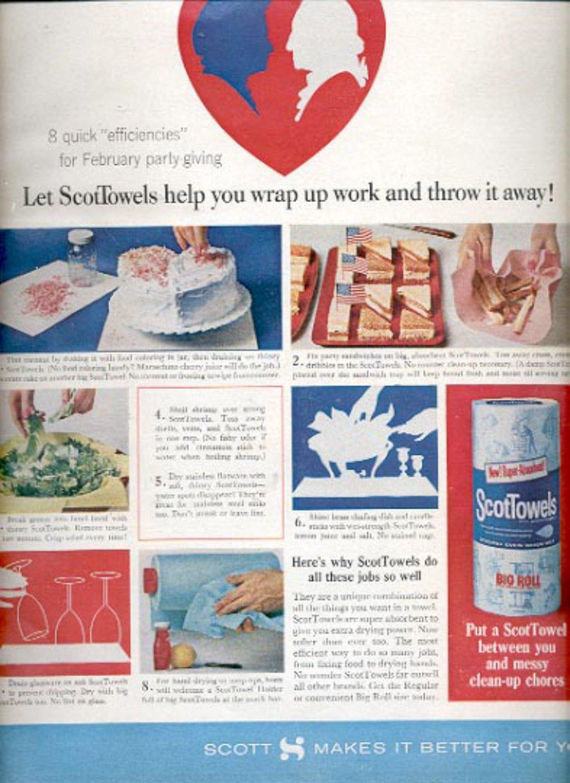 1964    Scot Towels  ad (# 4876)