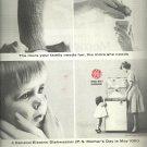1964  General Electric Dishwasher   ad (#4013)