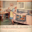 1958 General Electric Range   ad (#4113)
