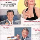 1954 Chesterfield  ad (# 1789)