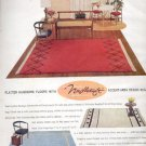 1957    Cabin Crafts- Needletuft Rug Mills  ad (# 4801)