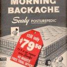 1957   Sealy Posturepedic mattress   ad (# 4790)