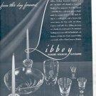 1941 Libbey Modern American Glassware  ad (# 4471)