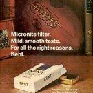 1972  Kent    cig ad (#  1546)