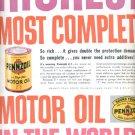 1960  Pennzoil Motor Oil   ad (# 5302)