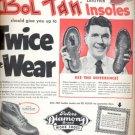 Nov. 1953  Peters Diamond D Brand Work Shoes  ad (#5596)