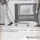 1960  Philco Cool- Chassis  TV  ad (# 4528)