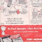1955  Du Pont Sponge ad ( 2974)