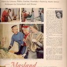 1958  Masland Rugs and carpets  ad (#4108)