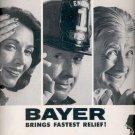 1960  Bayer aspirin  ad (#5736)
