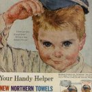 1961 Northern Towels ad   (#  486)
