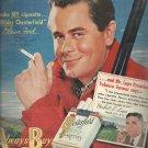Oct. 1949    Chesterfield Cigarette      ad  (#2692)