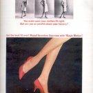 1964 Seamless Supreme by Mojud hosiery ad (# 5043)