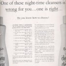 1960 Revlon 'clean and clear' cleansing lotion  ad (#5735)