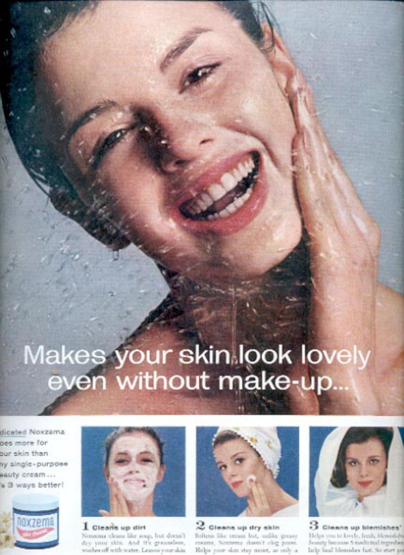 1963   Noxzema Skin Cream    ad (#5524)