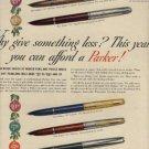 1952 Parker Pen ad ( # 794)