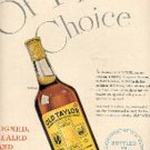 1948  Old Taylor Kentucky Straight Bourgon Whiskey  ad (# 3111)