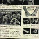 1937  Ten High straight bourbon whiskey ad (  # 1212)