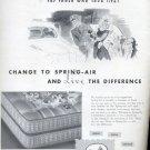 1945    Spring Air mattress and box spring ad (#4192)