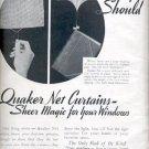 1939  Quaker Lace Company  ad (#4241)