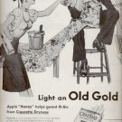 1945   Old Gold Cigarettes   ad (# 5221)