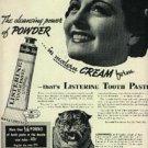 1937 Listerine Toothpaste       ad (  # 1224)