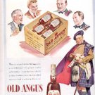 1941  Old Angus Scotch Whisky ad ( # 2625)