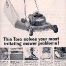 1962  Toro Lawn Mower ad (# 3010)