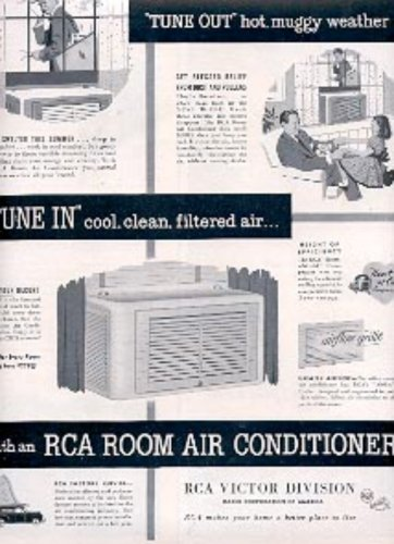1952 RCA Room Air conditioner ad (# 2460)