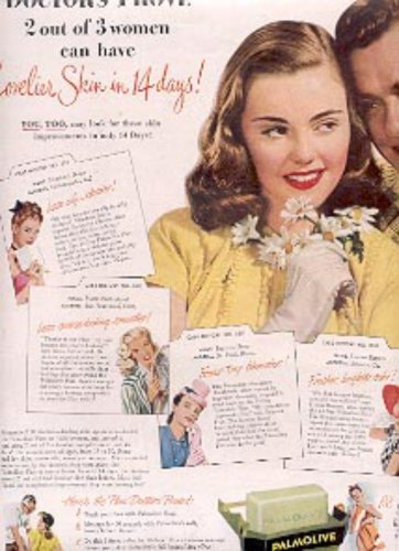 1947 Palmolive   soap ad (# 2156)