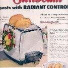 1952  Sunbeam Toaster ad (# 1906)