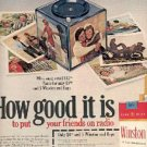 1972 Winston cig. ad ( # 1552)