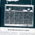 1962 General Electric Radio ad (#  2116)