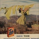 1958 Tide ad ( # 645)