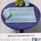 1963  Scott Placemats, Cups, Napkins ad ( # 3037)