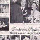 1948 Woodbury Soap ad ( # 3165)